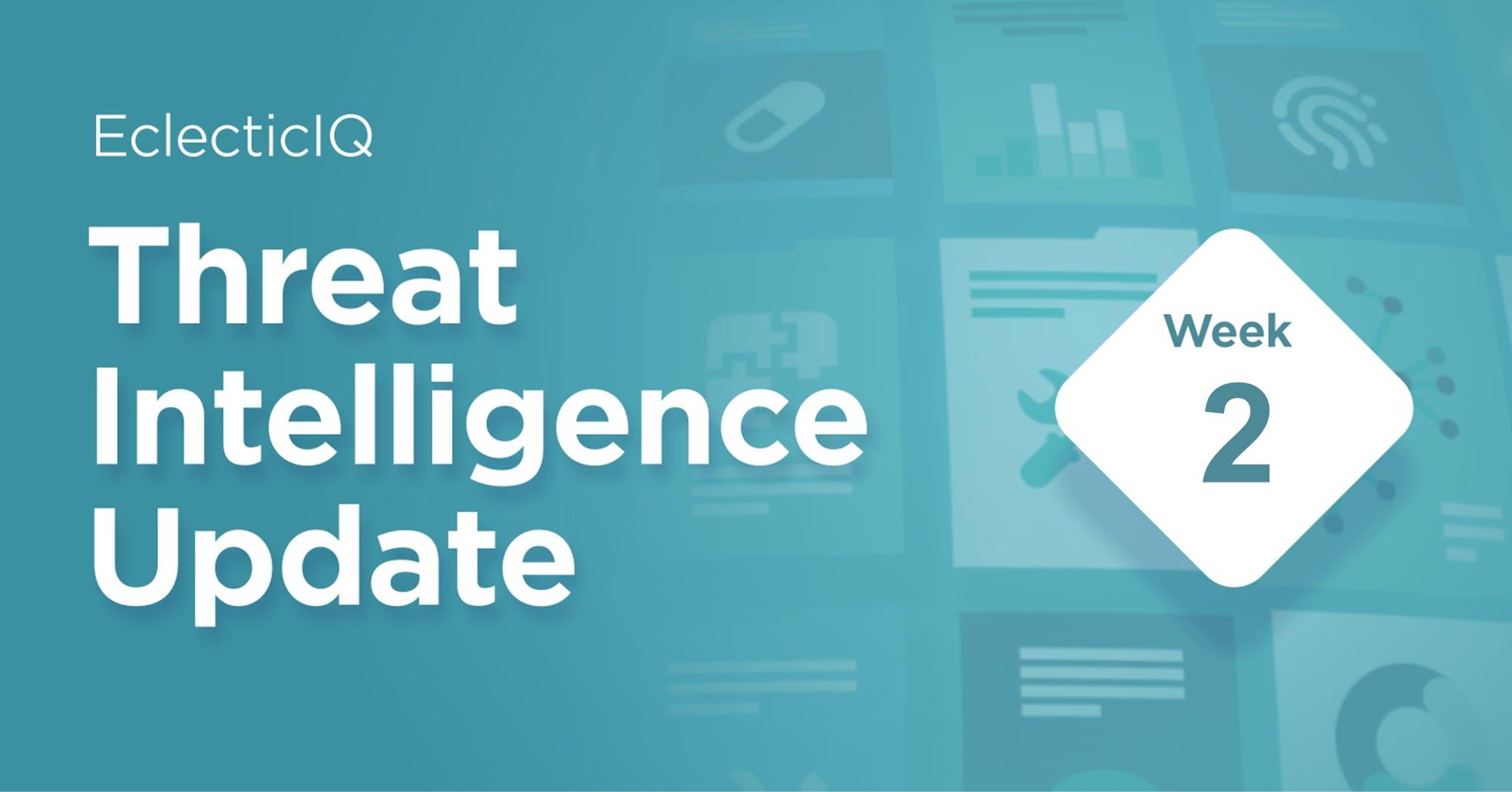 Threat Intelligence Update Week 2-biweekly Report